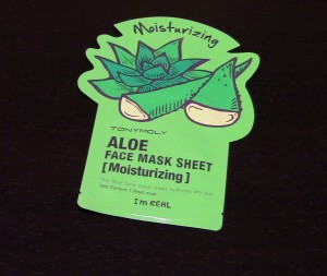 Tony Moly Aloe Sheet Mask Front